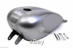 Custom Indented 3.3 GAL Carb Fuel Gas Tank For 2004-10 Harley Davidson Sportster