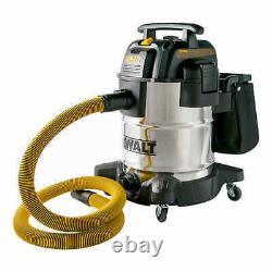 DEWALT DXV10SA 10 Gallon 5.0 HP Stainless Steel Wet-Dry Vac Vacuum NEW