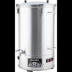 DigiBoil Electric Kettle with Mash Upgrade Kit 65L/17gal (220V) All Grain Beer