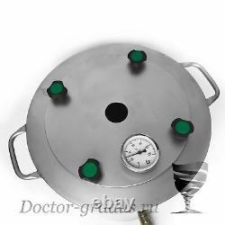 Distiller Boiler 36 Liter 9 gal distillation pot moonshine still kettle