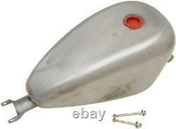 Drag Specialties 3 Gallon Peanut Gas Fuel Tank For Harley Davidson XL 07-17