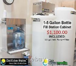 Durastill 42 Gallon per day Automatic Water Distiller with 200 Gallon Reserve
