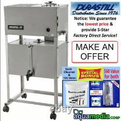 Durastill 8 gal/d Auto Water Distiller, 10/gal tank LIMITED INVENTORY-ASK FIRST