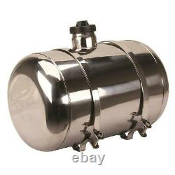 EMPI 3895 Pol Stainless Steel Fuel Tank, 10x16 In, Center Fill, 5 Gal