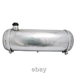 EMPI 3897 Pol. Stainless Steel Fuel Tank, 10x30 In, End Fill, 9.5 Gal
