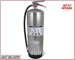 Free Shipping Amerex Fire Extinguisher Class A, 2.5 gal Capacity, Metal Valve