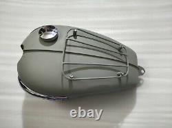 Fuel Petrol Gas Tank Steel With Side Badge Triumph T120 Bonneville 3.5 Gallon