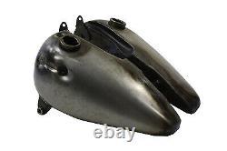 HAND SHIFT Panhead Shovelhead 3 1/2 or 5 Gallon FAT BOB GAS TANKS
