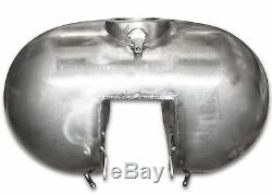Indented 7.2 Gallon Stretched Gas Fuel Tank For Harley FLH Electra Glide 03-07