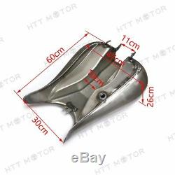 Indented 7.2 gallon Stretched Gas Fuel Tank For Harley FLHR Road King 2003-2007
