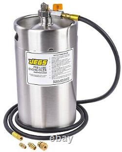 JEGS 23550 Pre-Lube Engine Oiler 2-Gallon Stainless Steel Tank Large Easy-to-Fil