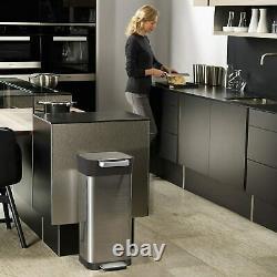 Joseph Joseph Intelligent Waste Titan Trash Can Compactor, 5 gallon/20 liter