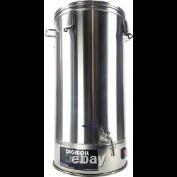 Maple Syrup Electric Digiboil 1500w (110V) Concealed Element 9.2 Gallon Kettle