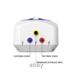 Mini Tank Electric Water Heater 7.0 Gal. Point of Use Instant Hot Water Boat RV
