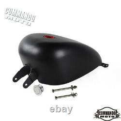 Motorcycle 3.3 Gallon EFI Fuel Gas Tank For Harley Sportster XL 1200 883 2007-20