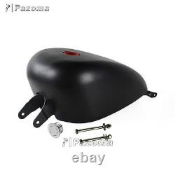 Motorcycle 3.3 Gallon EFI Injected Gas Tank For Harley Sportster XL 2007-2017