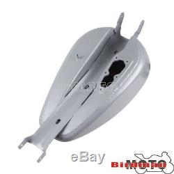 Motors 3.3 Gallon Gas Fuel Tank For Harley Sportster XL 883 1200 Iron 883 07-16