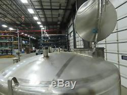 Mueller 735 gallon Jacketed Stainless Steel Tank
