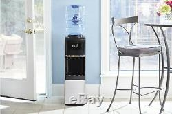 Primo Water Dispenser Top Loading Cooler Hot 5 Gallon Bottle Stainless Electric
