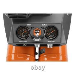 RIDGID OF45200SS 4.5 Gal. Portable Electric Quiet Air Compressor