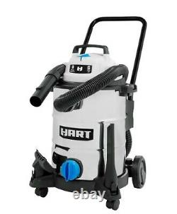 SHOP VAC WET DRY VACUUM 8 Gal 6.0 HP Stainless Steel With Attachments