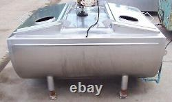 SOLAR 180 Gallon Stainless Steel Flat top Bulk Milk Tank 181043
