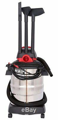 Shop-Vac 12 Gallon 6 Peak HP Stainless Steel Wet/Dry Vacuum with Blower, NEW