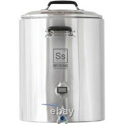 Ss Brewing Technologies SS 304 10 Gallon InfuSsion Mash Tun Insulated Stainless