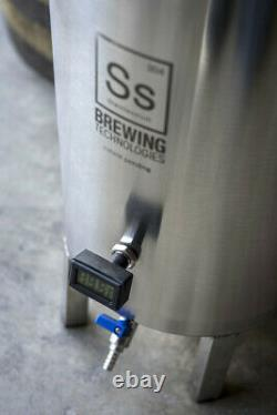Ss Brewtech 7 Gallon Brew Bucket Brewmaster Conical Fermenter with LCD Thermometer