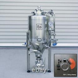 Ss Brewtech Unitank 7 gal (With Heating & Chilling Package) Conical Beer