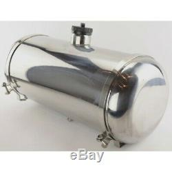 Stainless Steel Fuel Tank 10 X33, 10.5 Gallon, Center Fill, Dunebuggy & VW