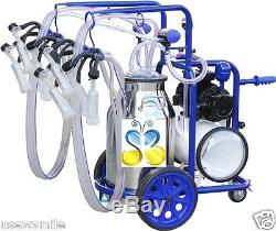 Stainless Steel Milking Machine 10.5 Gal for GOATS 120V 4x milking FREE EXTRAS