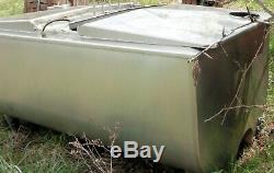 Stainless Steel Tank Jacketed 200 Gal Approximate-Previously in Food Service