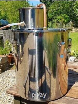 Still UK seller Alcohol Homebrew high grade stainless steel 3.5 gallon/16 Litres