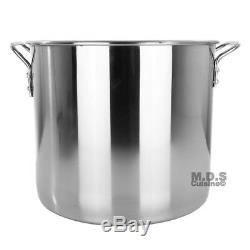 Stock Pot Stainless Steel 80 QT Steamer Vaporera Tamalera For Tamales (20gallon)