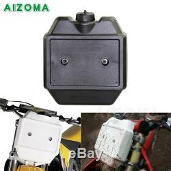 Supermoto Front Auxiliary Fuel Tank 1.3 Gallon For Motorcycle off Road Dirt Bike