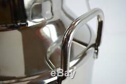 TEMCo 40 Liter 10.5 Gallon Stainless Steel Milk Can Wine Pail Bucket Tote Jug