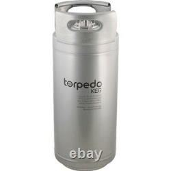 Torpedo Ball Lock Keg 6 gal Stainless Steel Corny Keg Homebrew Beer Kegerator
