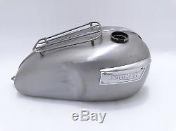 Triumph T120 Bonneville 3.5 Gallon Fuel Tank With Parcel Rack & Badges Code1496