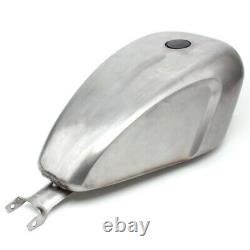 Unpainted 3.3 Gallon EFI Gas Fuel Tank For Harley Sportster XL 883 1200 2004-up