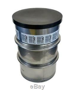 Used 55 gallon Stainless Steel Barrel Drum Open Top 316 Sanitary