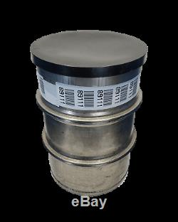 Used 55 gallon Stainless Steel Barrel Drum Open Top 316 Sanitary #2
