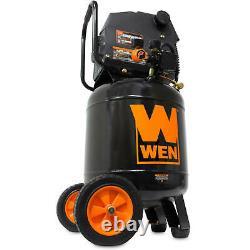 Vertical Air Compressor WEN 10-Gallon Oil-Free