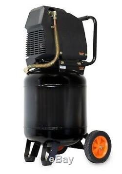 WEN 2289 10-Gallon Oil-Free Vertical Air Compressor