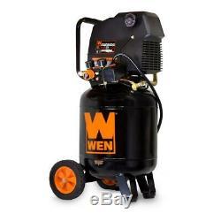 WEN Portable Air Compressor 10 Gal. Oil-Free Electric Auto-Shutdown Function
