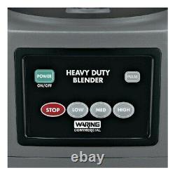 Waring CB15 Commercial 1 Gallon Blender Full One year warranty Genuine 120 volt