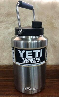 Yeti Rambler One Gallon Jug Stainless Steel, Free Shipping